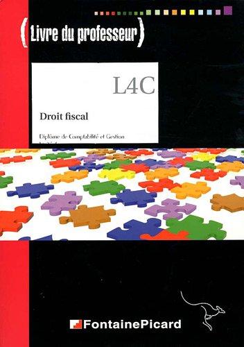 Droit fiscal DCG 4 : Livre du professeur (1Cédérom)