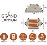 Grand Canyon Cardova 1 – Trekkingzelt (1-2-Personen-Zelt), diverse Farben - 2