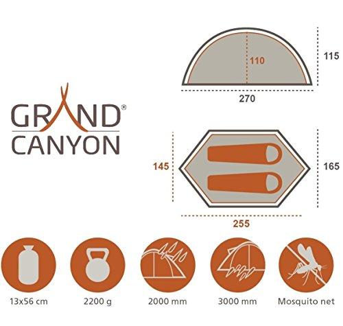 Grand Canyon Cardova 1 – Trekkingzelt - 2