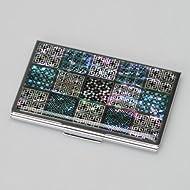 Porte Cartes de Visite Nacre Design Tradition Corée