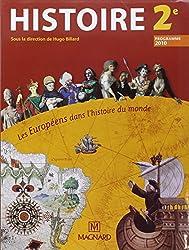Histoire 2e : Les Européens dans l'histoire du monde, programme 2010, petit format