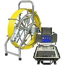 60m de pan y Tilt Alcantarillado Agua Pipe inspección cámara Limpieza Robots para PUMBING