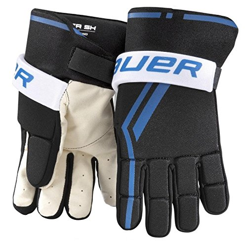 Bauer Junior Street Hockey Handschuh (Paar), schwarz, S