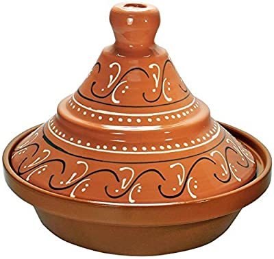 Reston Lloyd 91902 2-Quart Terra Cotta Tagine, Large by Reston Lloyd