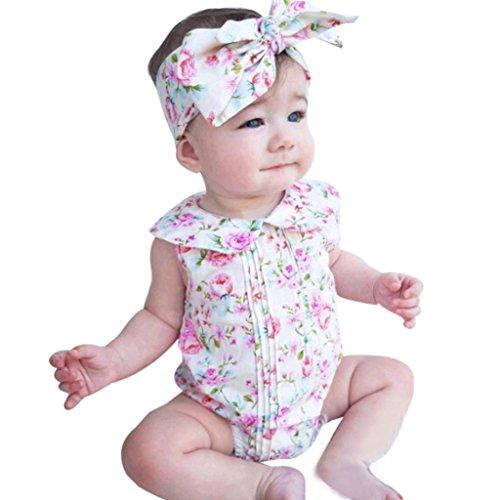 vestidos nina fiesta Switchali Recién nacido Bebé Niña verano Ropa floral mono...
