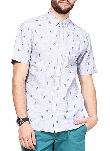 Jack & Jones Men Casual Shirt (5712063471981 Navy Blazer Large )  available at amazon for Rs.1247