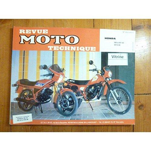 REVUE MOTO TECHNIQUE HONDA 80cc MB, MT, MTX RTMHS001 - Hors série