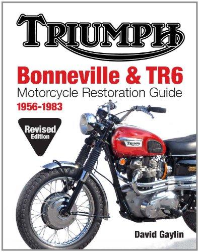 Triumph Bonneville and TR6 Motorcycle Restoration Guide:, usato usato  Spedito ovunque in Italia