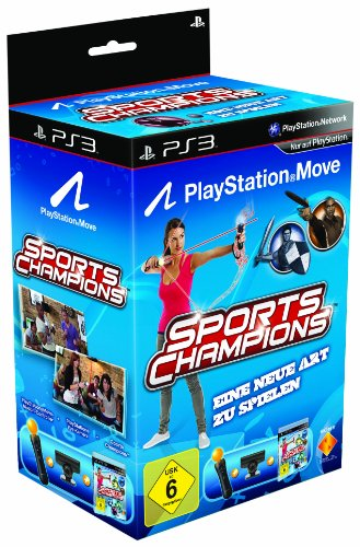 PlayStation Move Starter-Pack mit Sports Champions