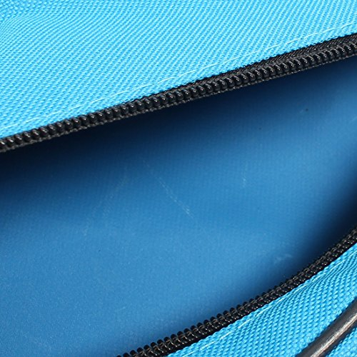 sourcingmap® Radfahren Fahrradtasche Frontrahmen Triangle Rahmentasche Bag B-SOUL Berechtigt Blue