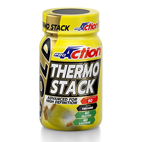 Proaction gold thermo stack - barattolo da 90 compresse