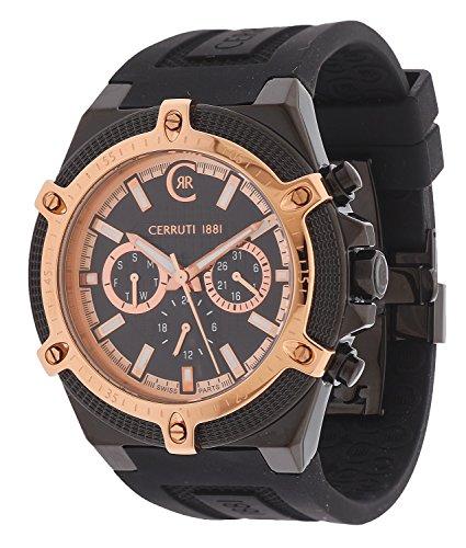 cerruti-1881-cra036d224h-montre-homme-quartz-analogique-chronometre-bracelet-divers-materiaux-noir