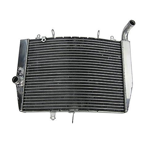 ALLOYWORKS Replacement Aluminum Engine Cooling Radiator For Honda CBR600RR F5 2007-2012 Racing