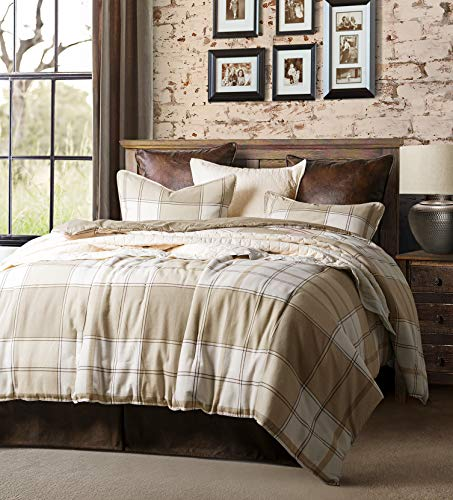 Earthtone-set (HiEnd Accents Wilson Comforter Set, Twin, Tan)