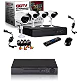 Biaba Collection Protect Your Home Or Business With This Fantastic Security System 4 Channel CCTV DVR Security Recording System 1280*1024 5MP IP TVI CVI Xmeye AHD DVR All In One H.264 Video Recorder For 1280*1024 AHD CCTV Camera Recording Resolution 1280*