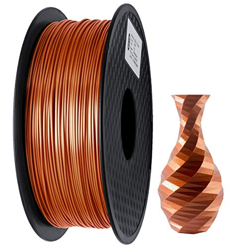 GIANTARM Filament PLA 1.75mm Silk Kupfer,3D Drucker PLA filament 1kg Spool