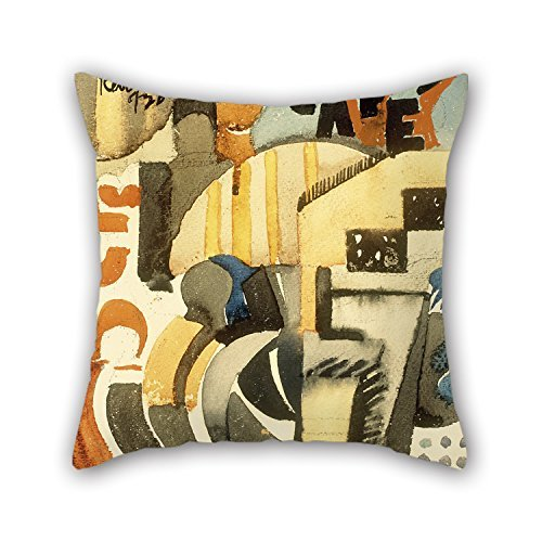 NICEPLW Pillow Covers Of Oil Painting Fermín Revueltas - The Five-cent CafÃ...