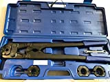 Pressatrice manuale per raccordi tubo multistrato Pex th 16 20 25 26 32