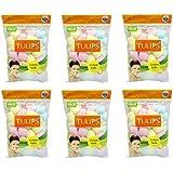Tulip 50 Multi Color Cotton Balls In A Ziplock Bag (pack Of 6)