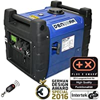 DENQBAR 3,6 kW Inverter Stromerzeuger Notstromaggregat Stromaggregat Digitaler Generator benzinbetrieben DQ3600ER mit E-Start und Funk