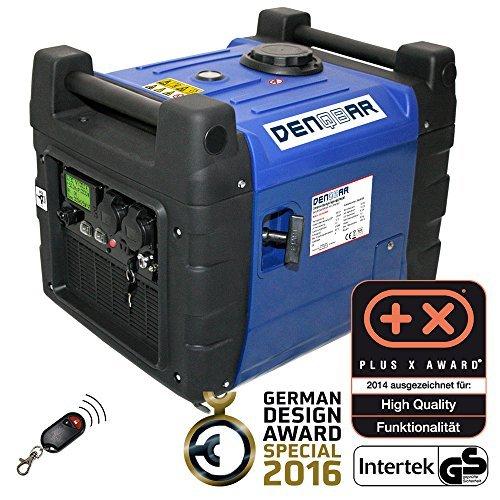 DENQBAR REMOTE & E-START 3 6 KW GENERADOR DE ENERGIA ELECTRICA DIGITAL DQ3600ER