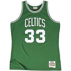 Camiseta Swingman vintage Mitchell & Ness Larry Bird Boston Celtics Talla S