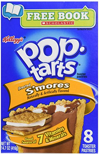 Kellogg's s'mores pop tarts 416g thank you kellogg's these are fantastic, 8 scrumcious marshmallow and chocolate pop tarts you just have to try.
