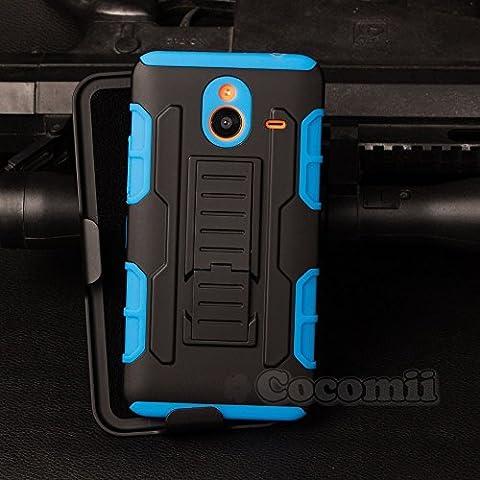 Nokia Lumia 640 XL Coque, Cocomii® [HEAVY DUTY] Nokia Lumia 640 XL Robot Case **NOUVEAU** [ULTRA AVENIR ARMOR] Étuis De Ceinture Premium Kickstand Bumper Case [DÉFENSEUR MILITAIRES] Corps Plein Robuste Hybride Double Couche De Protection Cover Bumper C...