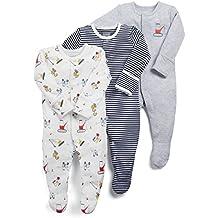 Mamas and Papas Pyjama Bébé Garçon (lot DE 3)