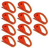 Ehdis Snitty Sicherheitsmesser Vinylauto-Verpackungs-Ausschnitt-Werkzeug-Carbon-Faser-Ausschnitt Anwendung Messer 4 x 2,6 Zoll ZIPPY - 10 PCS