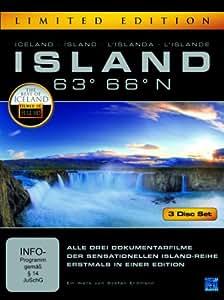 Island 63° 66° N - Eine phantastische Reise durch ein phantastisches Land [Limited Edition] [3 DVDs]