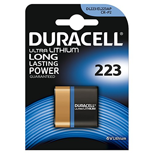 Duracell Ultra Lithium Batterie (Duracell Ultra Lithium Batterie 223 (CR-P2) 1er)