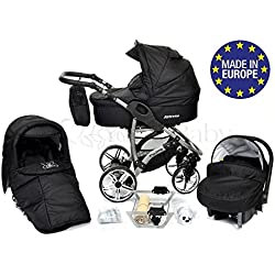 Silla paseo, capazo y silla de coche Baby Sportive Allivio