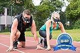 GEEZ 3-Modul-System Basic Trainingsmaske für professionelles Höhentraining - steigerung der körperlichen Fitness Atemmaske Trainings Maske training Mask - 6
