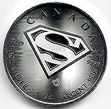 Superman 2016 1 Unze Silber Münze Silbermünze Kanada 1 oz silber in Münzkapsel