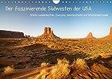 Der faszinierende Südwesten der USA (Wandkalender 2019 DIN A4 quer): Weite Landschaften, Canyons, Geisterstädte und Wüstenmetropole (Monatskalender, 14 Seiten ) (CALVENDO Orte)