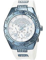 Guess Damen-Armbanduhr Analog Quarz Edelstahl W0653L2