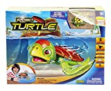 Goliath 32828 Robo-Turtle | Spielset Wasserschildkröte, Aquarium, Felsen | Gigantischer Wasserspaß auch in der Badewanne | Lebensechte Bewegungen auf dem Land und im Wasser