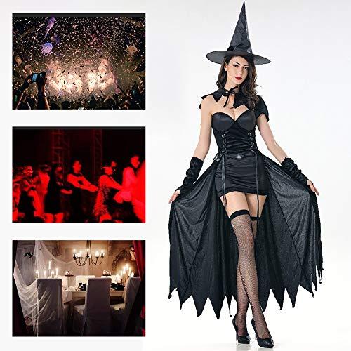 JH&MM Halloween Kostüm Damen Sexy Mantel Queen Devil Witch Masquerade - Masquerade Witch Für Erwachsene Kostüm Damen
