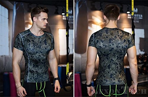 UrChoiceLtd-New-Skin-Compression-Tights-Baselayer-Short-Sleeve-Base-Layer-Running-T-Shirt-Quick-Dry-Breathable-Compression-Body-Health-Fitness-Crossfit-Clothing-for-Men