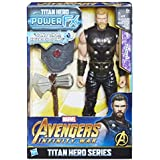 Avengers: Infinity War - Thor Titan Hero Power FX (Personaggio 30cm, Action Figure), E0616103