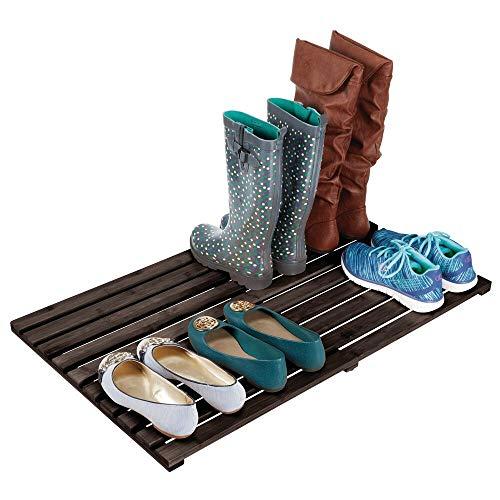 MDesign Tarima para baño ecológica - Práctica alfombra de bambú grande - Alfombrilla de baño, pasillo...