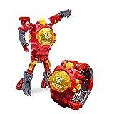 Wirewatch Montre Créative Deformation Électronique Montre Robot Jouets Enfants...