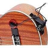 Delaman Recogida de Instrumentos Piezo Contact Microphone Pickup, para Guitarra Ukulele Erhu Banjo