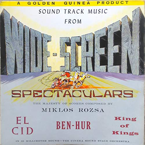 Sound Track Music From Wide-Screen Spectaculars Wide Cinema