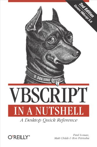 VBScript in a Nutshell: A Desktop Quick Reference (In a Nutshell (O\'Reilly)) (English Edition)
