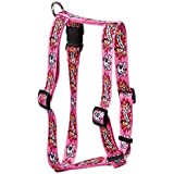 I Luv My Dog Pink Roman Harness - Extra-Small
