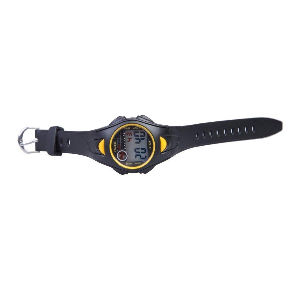 628 Deportes Natacion It De Pulsera Chica Chico Itaitek ImpermeablenegroAmarillo Digital Reloj Ninos Para SMVLUGqzp