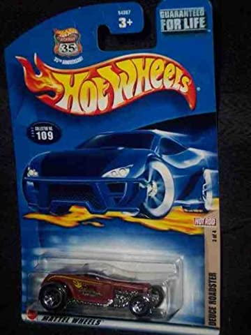 Hot Rod Magazine Series #3 Deuce Roadster #2002-109 Collectible Collector Car Mattel Hot Wheels by Hot Wheels