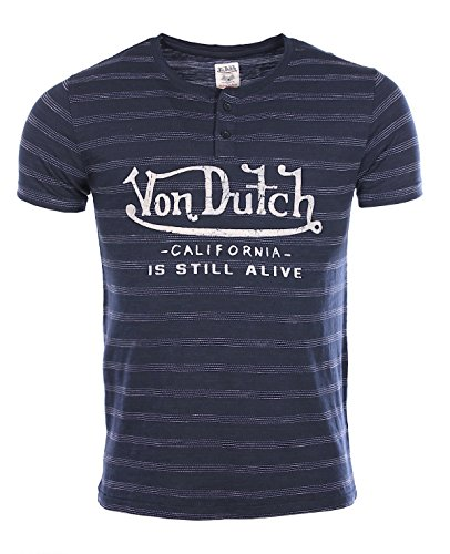 von-dutch-homme-t-shirt-bleu-marine-james-col-tunisien